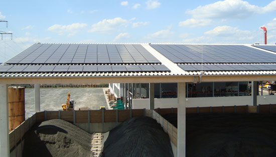 Photovoltaic solar plant 69,226 kWp