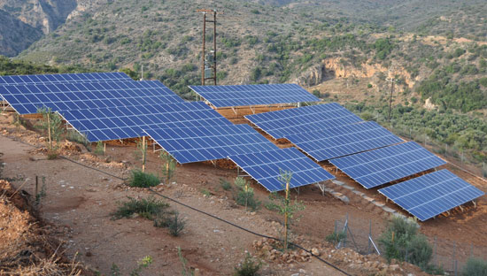 Photovoltaic solar plant 99,18 kWp
