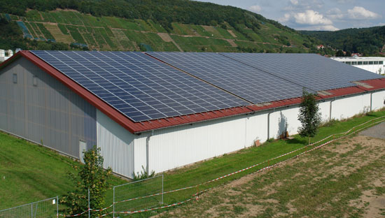 Photovoltaic solar plant 140,580 kWp